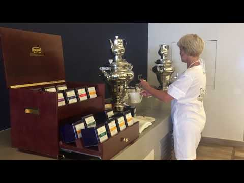 Miraggio thermal spa resort, Halkidiki, Greece - breakfast tea