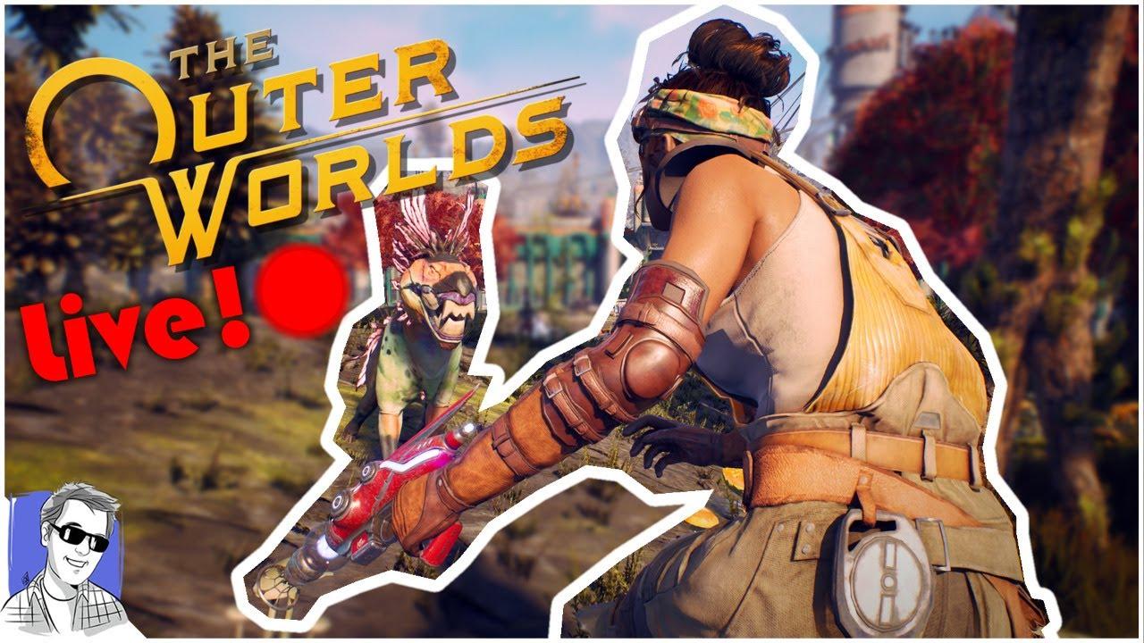 🔴 The Outer Worlds Live! On Steam! Sir Billington returns!
