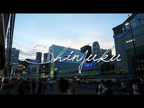 Shinjuku, 新宿 Bookstore📚&Hamburger Shop🍔
