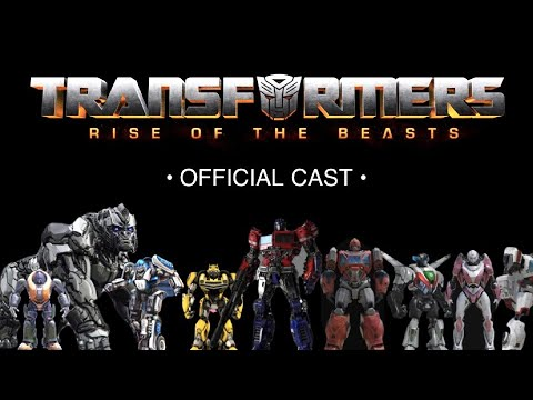 Download Transformers: Rise of the Beasts Robot Cast