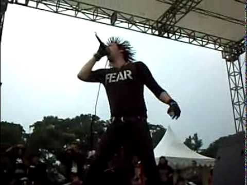 Total Chaos - Fuck the System (Live in Bandung, Indonesia | 13 Desember 2009)