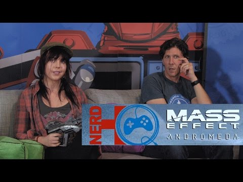 Nerd HQ Gaming Live! Mass Effect w/ Katy Townsend & Tom Taylorson