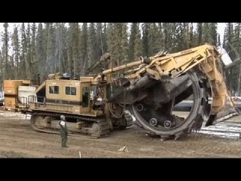 Heavy Equipment Accidents #RC Awesome Heavy Equipment, Trench Digger Machine, Trench Cutter Machine