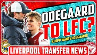 KLOPP WANTS ODEGAARD! LFC Transfer News