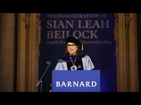 Inauguration of Sian Leah Beilock, Eighth President of Barnard College