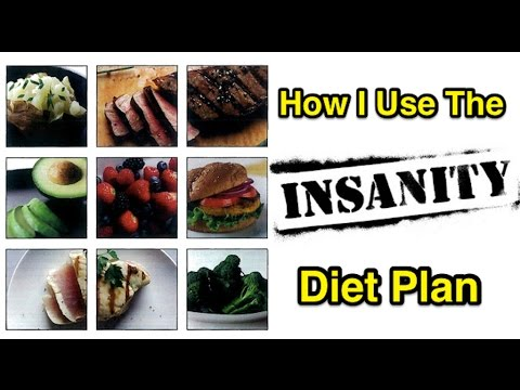 How I Use The Insanity Diet Plan
