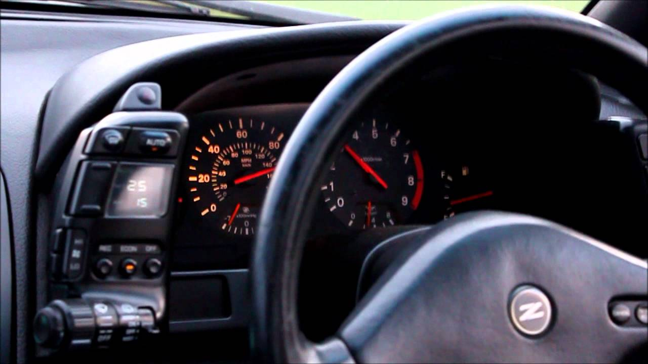 Nissan 300zx Twin Turbo 2 2 Auto 0 60 0 100mph Youtube