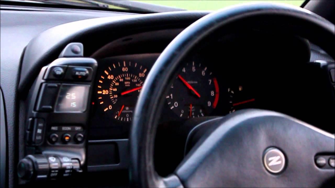 nissan 300zx twin turbo 2+2 auto 0-60, 0-100mph - youtube