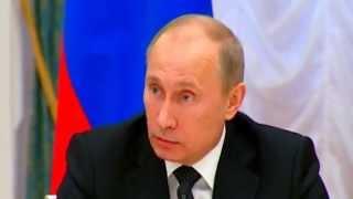 Путин про ввод российских войск в Крым