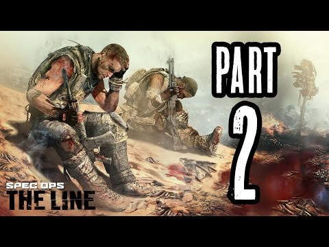 ► Spec Ops: The Line | #2 | CIA Agenti! | CZ Lets Play / Gameplay [1080p] [PC]