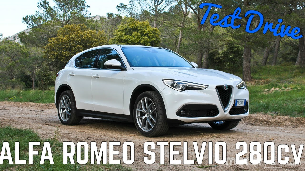 alfa romeo stelvio q4 280cv il test drive con il test driver modena youtube. Black Bedroom Furniture Sets. Home Design Ideas