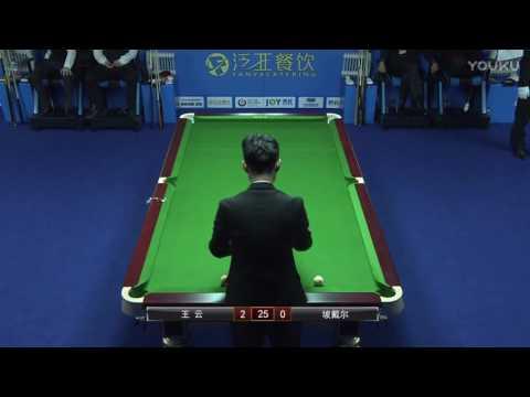 Wang Yun VS Muhammad Ali Pordel - 2017 World Chinese 8 Ball Masters