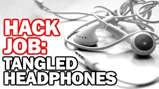 HACK for TANGLED HEADPHONES - Hack Job #9