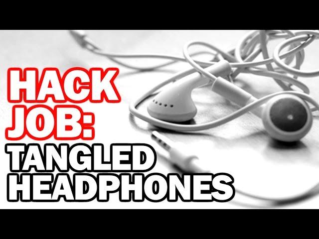 HACK for TANGLED HEADPHONES - Hack Job #9