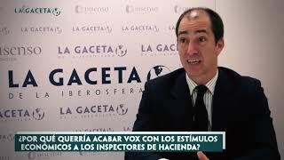 Coello de Portugal, diputado de VOX: 'España se ha convertido en un infierno fiscal'