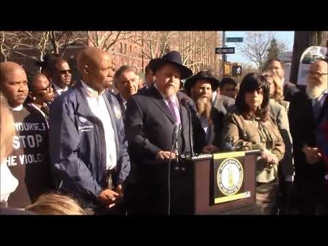 Officials Decry Violence in Crown Heights