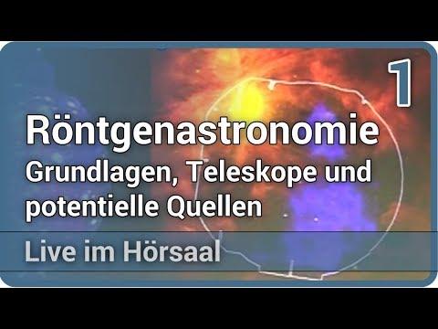 Röntgenastronomie (1/2) Grundlagen, Teleskope und potentielle Quellen • Live im Hörsaal | Jorn Wilms