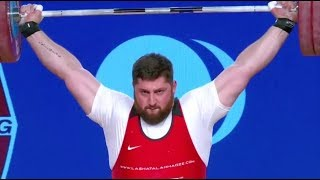 Men's 105+ kg A Session Snatch - 2017 IWF Weightlifting World Championships (WWC)
