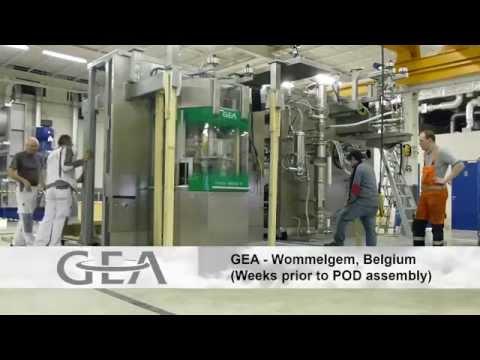 Portable Continuous Miniature Modules - GEA / Pfizer / G-Con