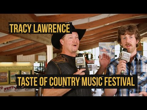 Tracy Lawrence Admits He's an Iggy Azalea Fan - 2015 Taste of Country Music Festival
