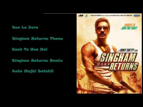 Singham Returns - All Songs | Ajay Devgan | Kareena Kapoor Khan