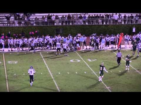 The Lovett School varsity football vs The Wesleyan School, 2014