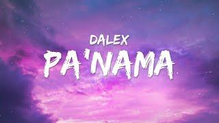 Dalex - Pa'nama (Letra / Lyrics)