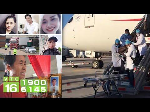 Sẽ đón Thi Thể 39 Người Việt Thiệt Mạng ở Anh Về Việt Nam | VTC16