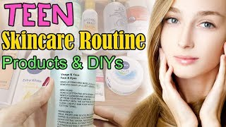 Teenager Skincare Routine Products + DIYs Beauty Tips & Hack Urdu Hindi