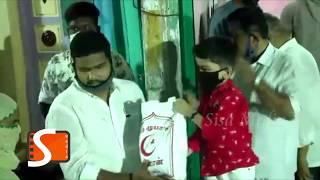 ரம்ஜான் பண்டிகை கொண்டாட 500 குடும்பங்களுக்கு உதவி