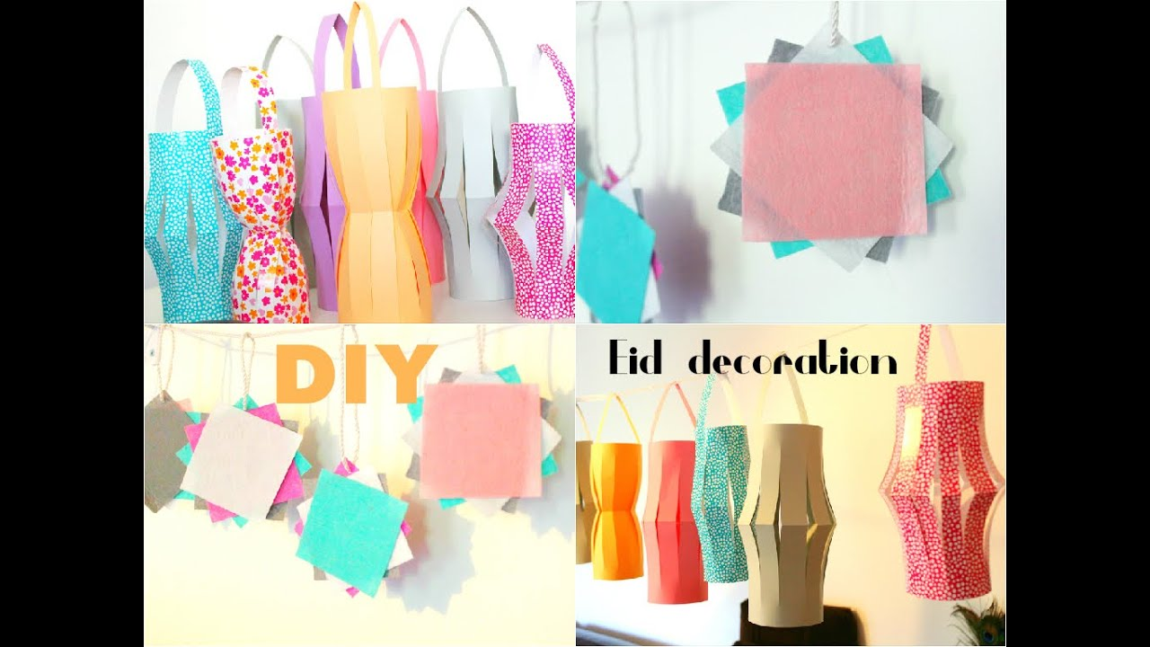 Diy Deco Pour Le Ramadan Et L Aid Eid Decoration