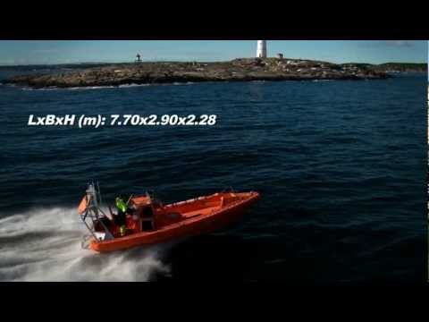 Norsafe Magnum 750 LC Fast Resce Boat