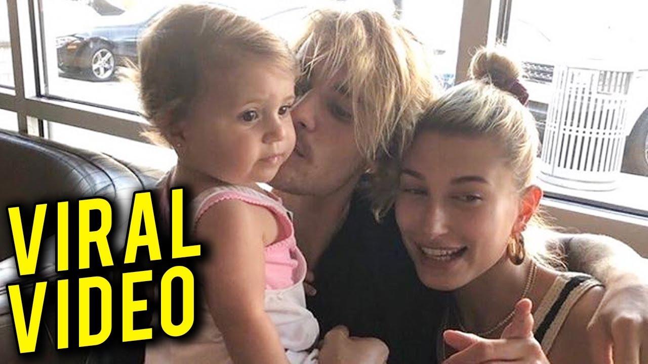 Justin Bieber Hailey Baldwin BABY CUTE VIDEO | Justin ...