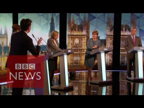 Election debate: Miliband & Sturgeon in debate clash