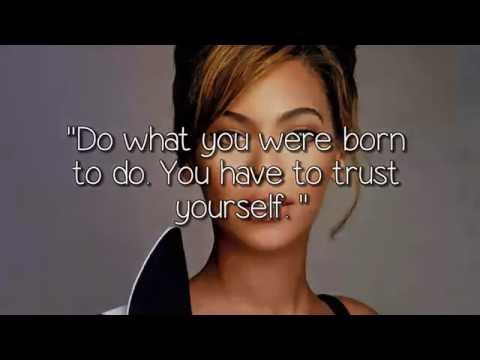 Quotes Of Inspiration From Beyonce