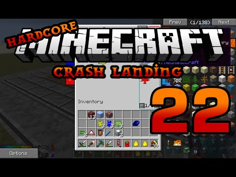Iskall's Hardcore Minecraft Crash Landing 22 -