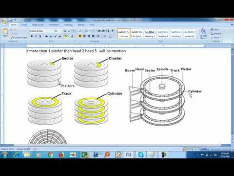 Seagate Hard Disk Firmware Repair Training Ch1: How Data Store In Hard Disk (Hindi) Demo