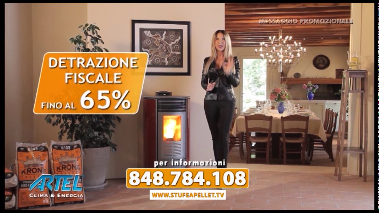 Offerta stufe a pellet Artel 2017 - YouTube