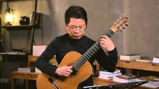 La Negra by Antonio Lauro played by Stephen Chau on Mario Gropp Double Top 2012 guitar