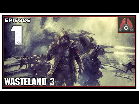 CohhCarnage Plays Wasteland 3 Supreme Jerk Difficulty (Thanks inXile For The Early Key) – Episode 1