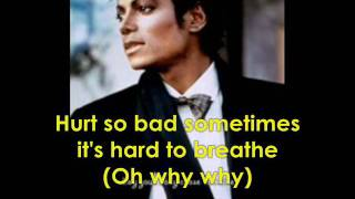 Michael Jackson One More Chance with Lyrics