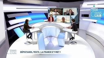 Dépistages, tests : la France s'y met ! #cdanslair 01.04.2020