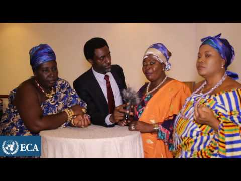 The Queen Mothers of Ghana discuss land rights