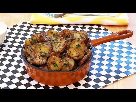 pommes-de-terre-rôties-à-l'ail-et-aux-fines-herbes-(la-meilleure-recette!)