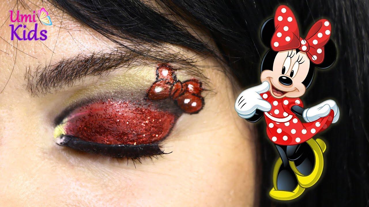Mickey Mouse Karakterleri Mini Makyaji Umikids Makyaj