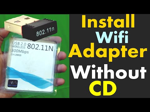 How To Install Wifi Driver Without CD In Any Laptop , PC Window/Linux/Mac || Window- 7,8,8.1,10
