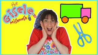 Simple Truck Craft | Easy Craft To Teach Children | The Gisele Mishmash