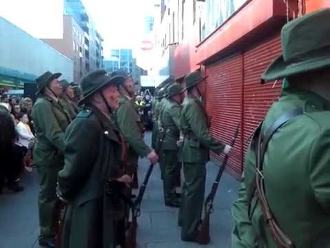 Freedoms Sons by the Irish Volunteers of the Sinn Fein Cabra Historical Re-Enactment Society