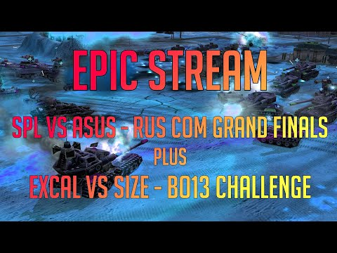 Command \u0026 Conquer LIVE - Generals Zero Hour - SPL Vs Asus (Rus Grand Finals) \u0026 Excal Vs Size BO13