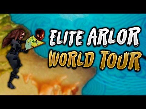 Arcane Legends - A Tour Around Elite Arlor, All Maps!!!!
